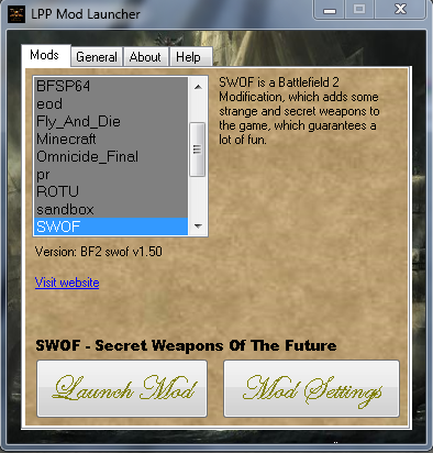 Irmo van den Berge - Portfolio - Battlefield 2 modding tools